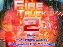 Игра Пожарная машина 2 фото