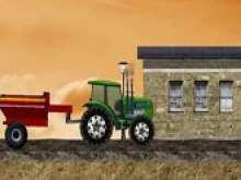 Игра Тракторы с прицепом фото