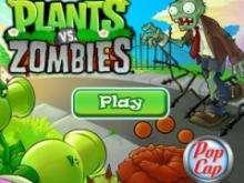 Игра Растения против зомби фото
