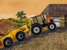 Игра Тракторы на гонках фото
