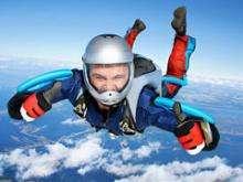 Игра Прыжок с парашютом фото