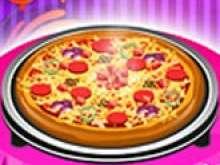 Игра Готовить пиццу для девочек в 6 лет фото