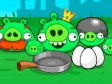 Игра Злые свиньи фото