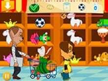 Игра Барбоскины в супермаркете фото