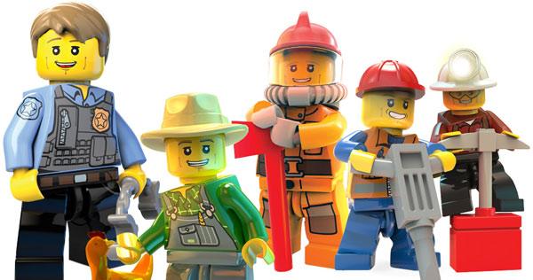 Игры Лего Сити 2