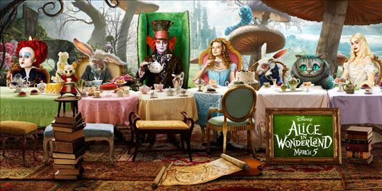Игры Алиса в стране чудес