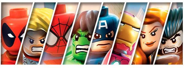 Игры Лего Марвел