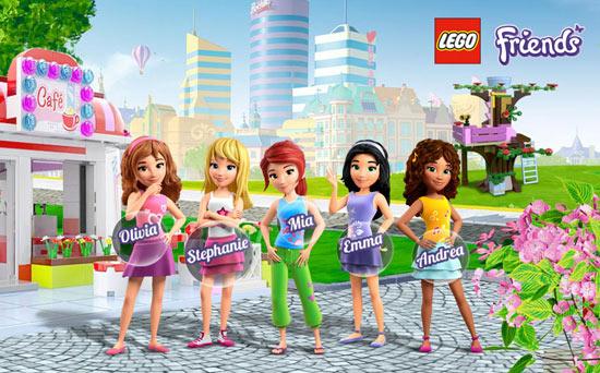 Игры Лего Френдс