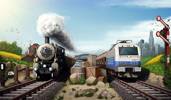 Игры Поезда