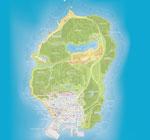 Новости Карту Лос Сантос для ГТА 5 опубликовали на сайте Rockstar