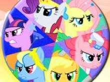 игра Пазлы для девочек пони