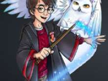 Гарри Поттер найди отличия