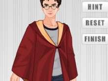 игра Гарри Поттера одевалка