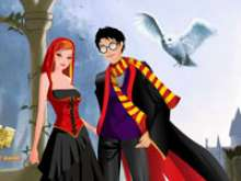 Гарри Поттер с девушкой
