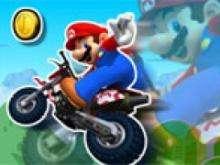 игра Песчаные гонки Марио