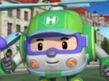 игра Робокар Поли - Хэлли спаситель