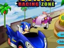 игра Соник и гонки на машинах