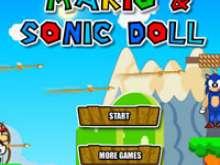 игра Марио спаси Соника