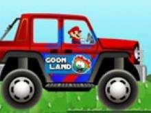 Марио на автомобиле