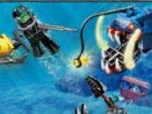 игра Подводные приключения лего