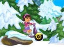 игра Зимняя поездка Даши