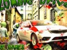 игра Дави зомби на машине