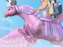 игра Барби волшебство пегаса