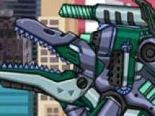 Динозавр робот машина