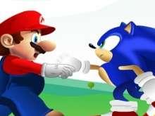 Марио и Соник