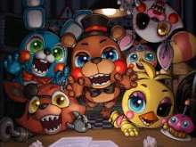 игра Five nights in anime