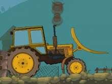 Большой трактора