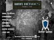 Герои войны Франция 1944