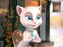 игра Кошка Анжела