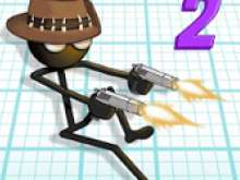 игра Stickman and gun 2