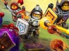 Раскраска Лего нексо найтс