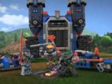 Мобильная крепость из Лего нексо найтс