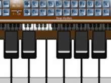 Пианино на клавиатуре