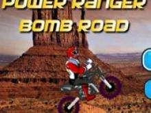 игра Рейнджеры Самураи на мотоцикле