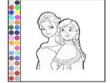 Раскраска принцесс для девочек 9 лет