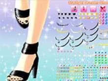 Дизайн обуви для девочек 10 лет
