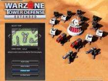 игра Warzone Tower Defence Extented